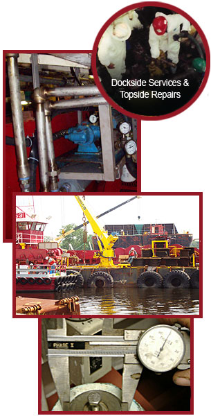 Dockside Services & Topside Repairs